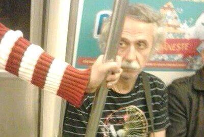 猜猜我乘地铁遇见了谁?