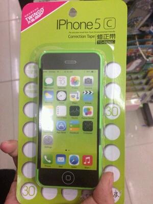 终于让我老爸托人从香港给我买来了苹果5c,呵呵,还蛮便宜的