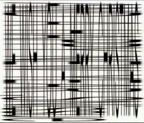 闭上一只眼睛,倾斜手机,从充电孔的方向看这幅图。赞