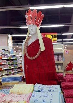 超市大妈又有新创意了。