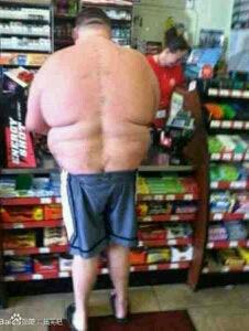 这么瘦弱的腿怎么支撑庞大的身躯,吊哥,你是如何做到的?