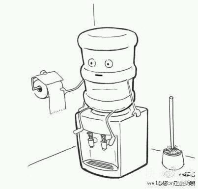 无法直视饮水机啊……