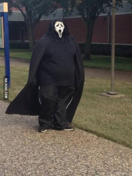 当你是个胖子的时候,你就算是个鬼,都不会让人感到害怕