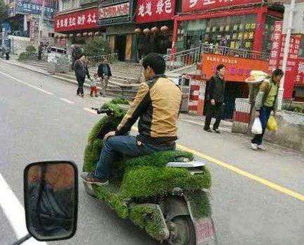 这车子好环保啊!