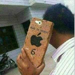 尼玛,终于拿到iPhone6了,像素老高了,想拍谁就拍谁!