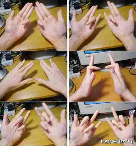 六大高难度手势倾情演绎,你能做几个呢?