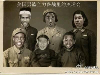 NBA全明星涩中国版,扎起