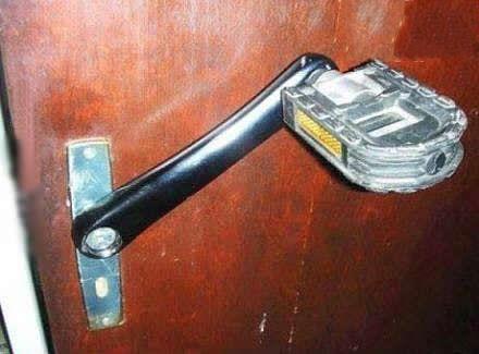 我操!这个门把手有点吊,哈哈哈