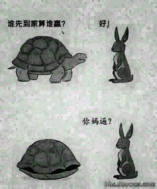 乌龟跑的果然快啊!!!!!
