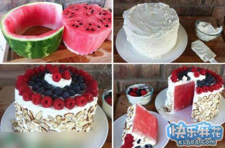 告诉你神马才是真正的水果蛋糕