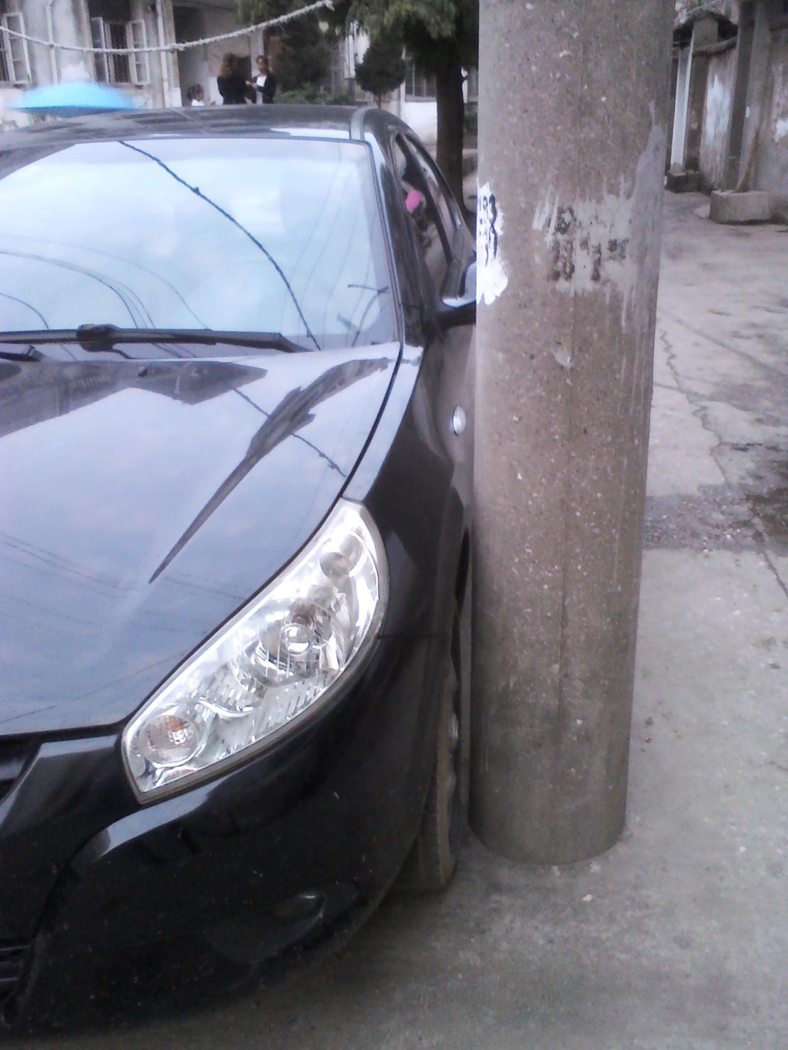 你们说这是人停的车吗?