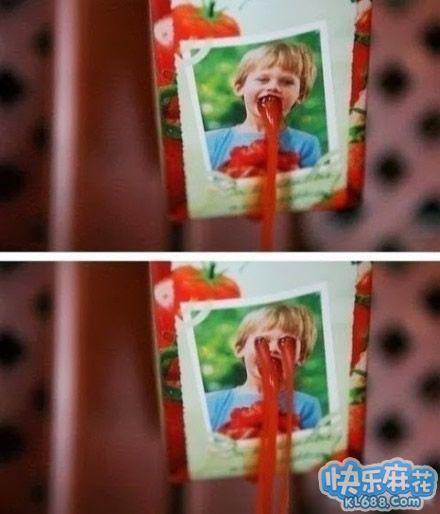 番茄酱包的错误打开方式