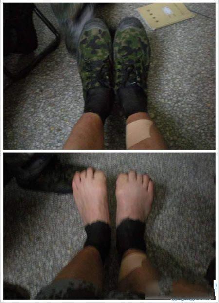 穿这样的袜子军训凉快多了