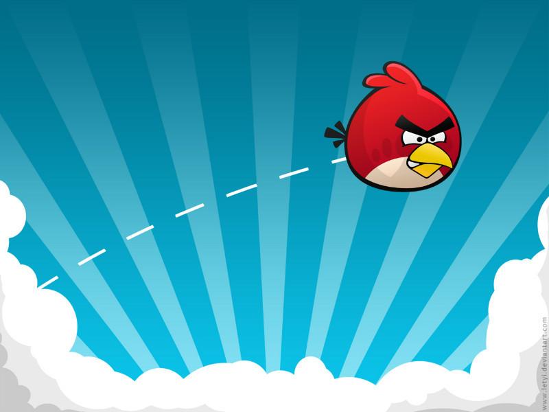 每个男人都应该有一颗宽容的心!因为愤怒的小鸟!!!
