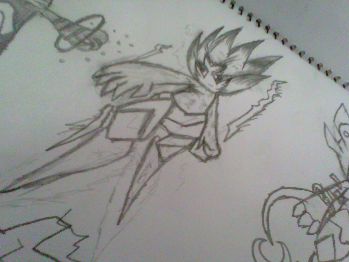 我自己画的。求过画了两个小时,赛尔号之雷神