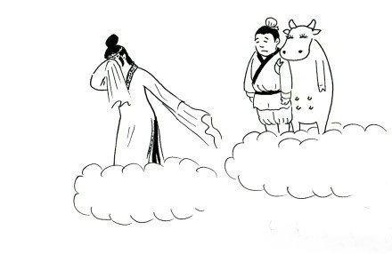 一年才能见一次,牛郎早就和牛好了!