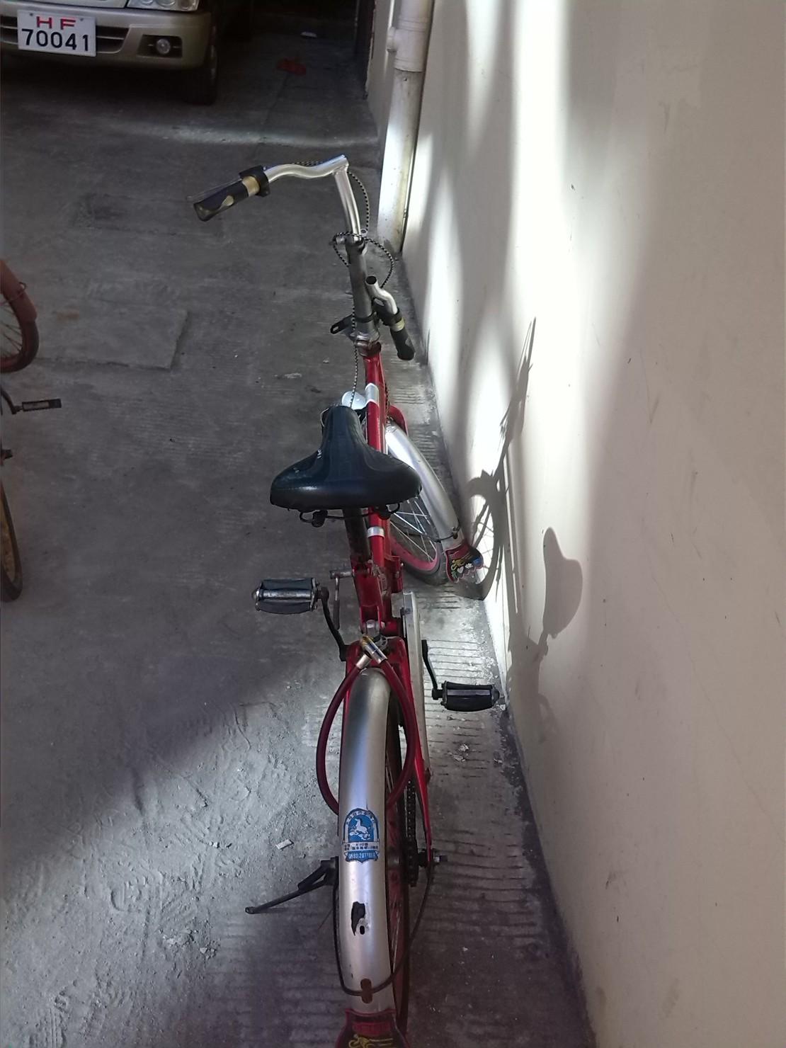 哈哈,刚看到的,骑这个自行车的肯定是杨过!! 姑姑,你怎么看?