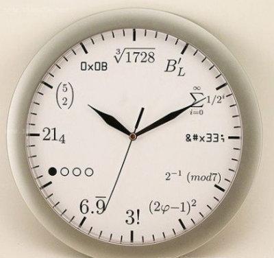 现在几点???叫你不好好学数学。