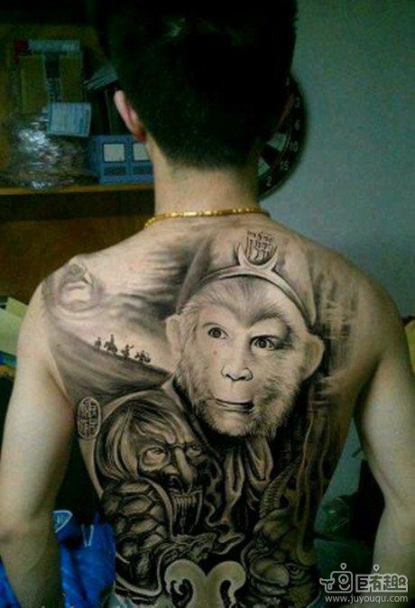 霸气的纹身……………………………………………………………