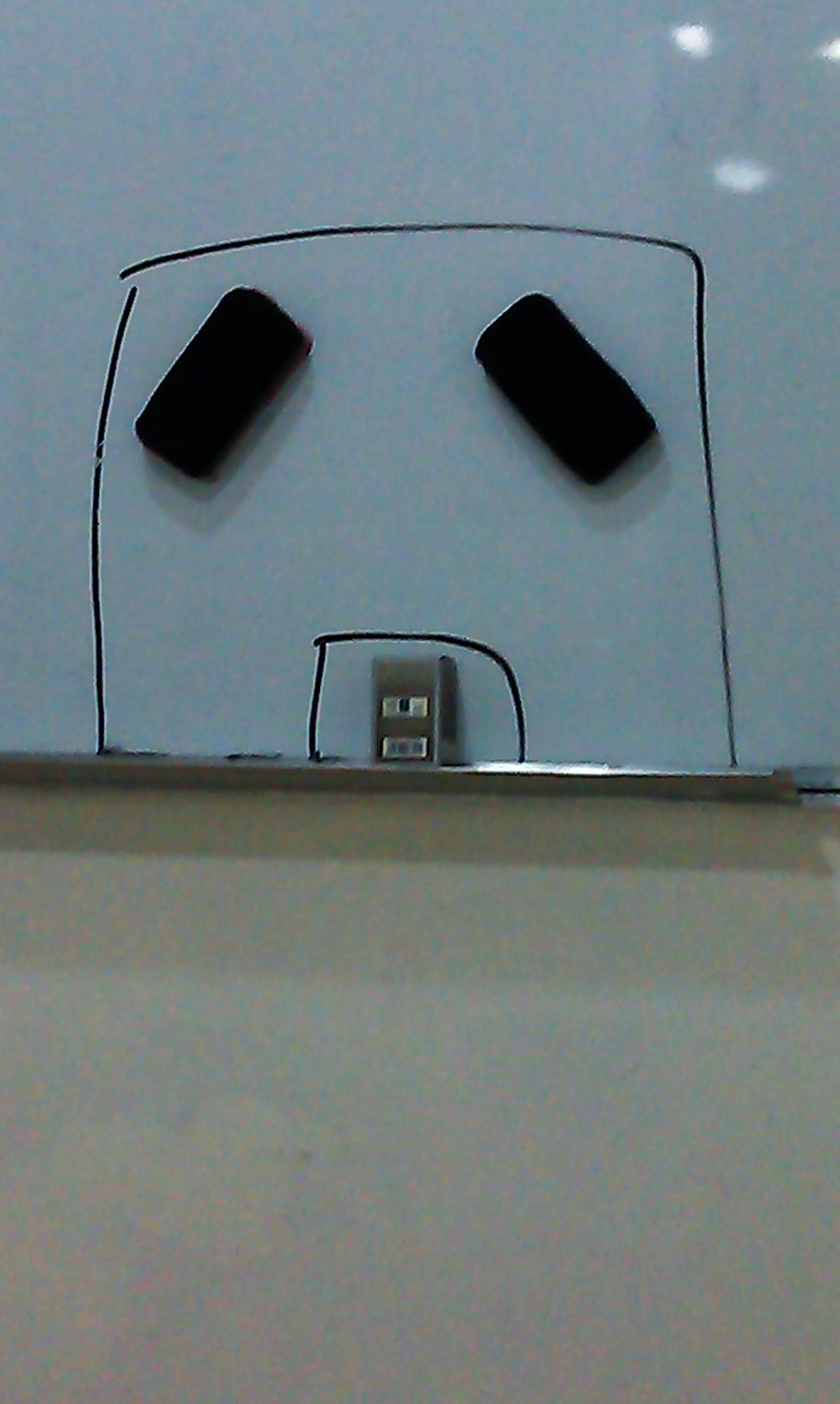 这是我一去教室看到的