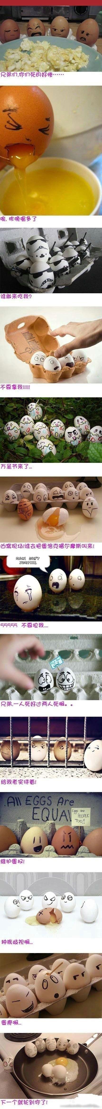 从前有一群鸡蛋