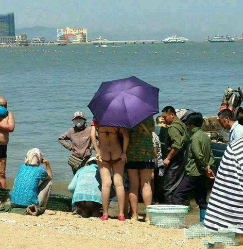 炎热的天气会让女人变的疯狂