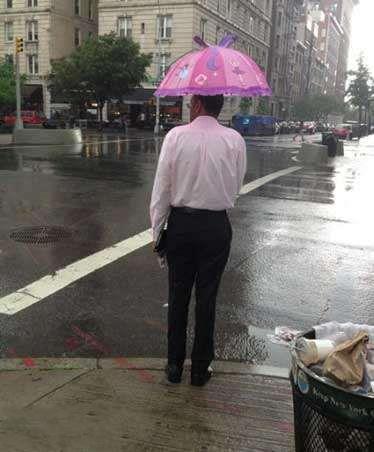 """这么""""可爱""""的伞,哪买的啊?"""