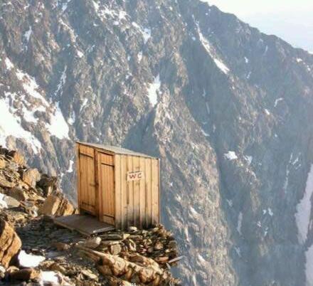 在这里上厕所有种飞流直下三千尺的赶脚