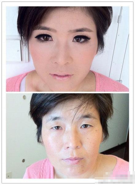 啊啊啊,男同胞们,找老婆一定要她卸妆看看啊 化妆技术太无敌了