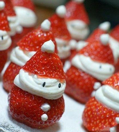 圣诞老人你肿么了,草莓吃多了么