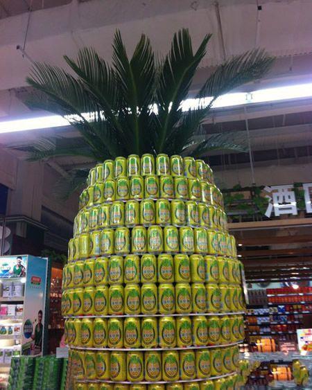 菠萝味的啤酒