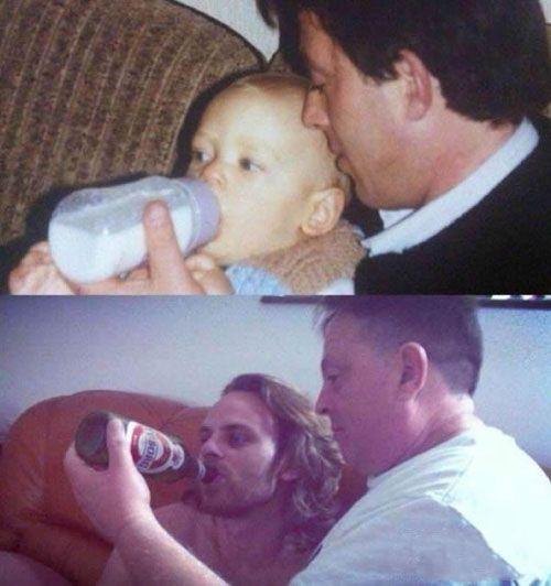 爸爸对我的爱从未改变