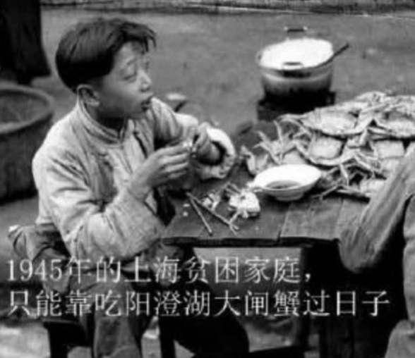 呐泥! 上 海 贫 困 时 期 竟 然 吃 这 么 贵 的 大 闸 蟹 ! ! ! !