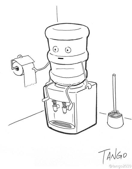 从此无法直视饮水机……[via:tango2010]