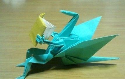 为啥有一种毁童年的感觉,这纸鹤太销魂了