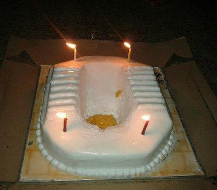 """这是不是""""屎""""上最恶心的蛋糕?!!"""