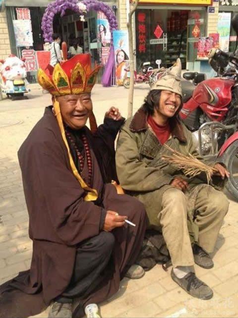 原来唐僧与济公是一对好基友
