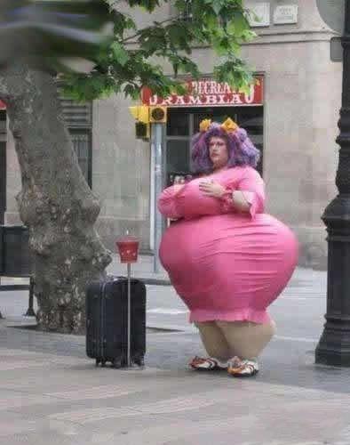 别说我胖,我只是瘦的不明显
