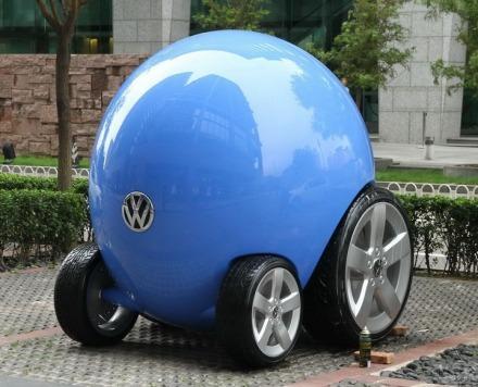 据说是大众新款车型:蛋腾!
