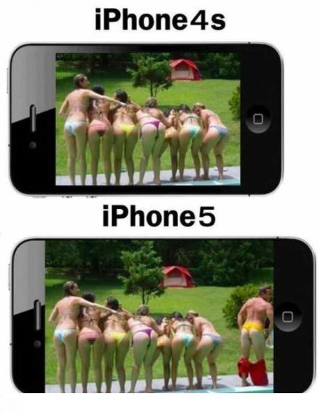 一张图让你了解4S和5的区别所在!!