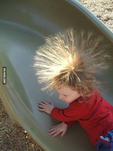小鬼,少玩儿会儿,回家吧,摩擦起电啊。。。