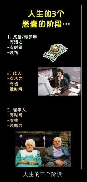 人生的三个阶段。。。