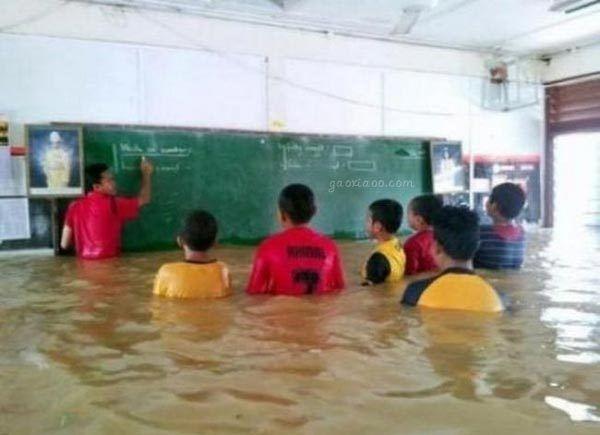 神马也阻挡不了我们上课。。。