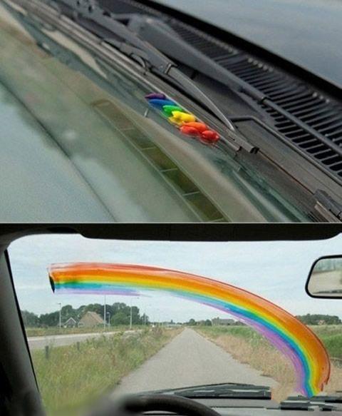 彩虹也可以这样