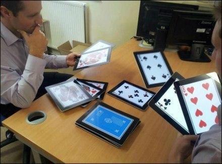 """""""如果我有54个iPad"""",高富帅的游戏。。。"""