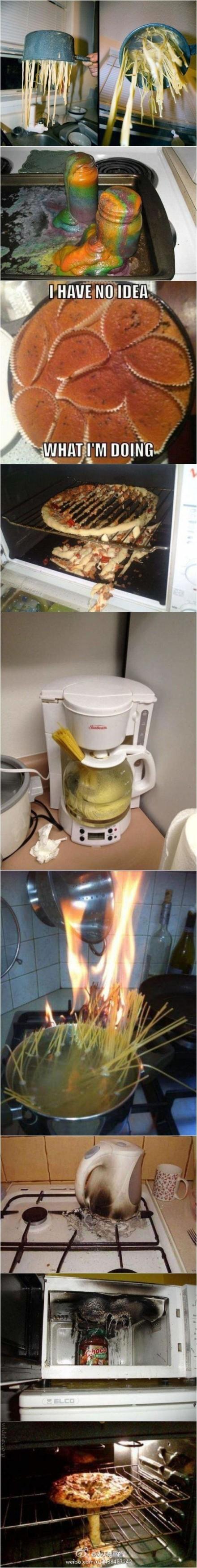 不会做饭的都是些有潜质的破坏分子。