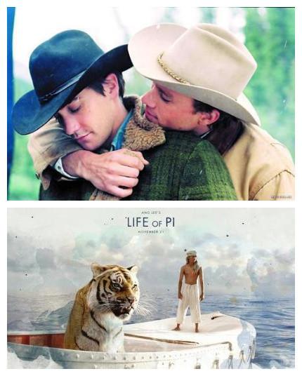 从《断背山》到《少年派》,李安豪气干云的弃了奥斯卡最佳女主角这个奖项……(via云狐不喜)