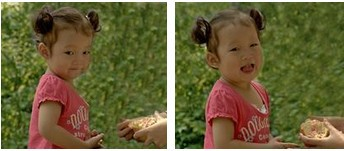 """拿了本画册教女儿认东西。我指了指图片上一个红红的石榴,问:""""知道这是什么吗?""""女儿瞄了眼,朝我摇了摇头。我便一字一顿地教道:""""是石榴,来,跟妈妈说,石榴。""""接着,我又指着旁边的另一个一模一样的石榴,问她:""""这个又是什么啊?""""女儿一看,笑嘻嘻地嚷道:""""这个我知道,是十七。"""""""