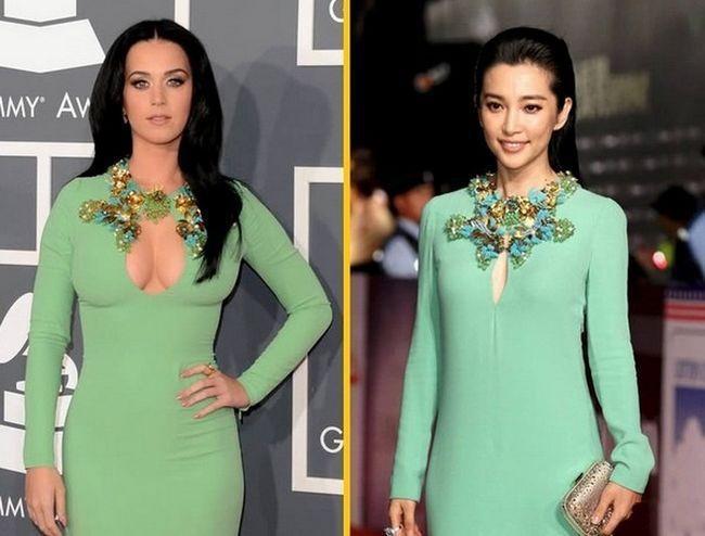 一张图告诉你中西方女性的差别...