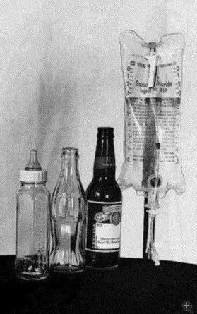 人的一生就是这4个瓶子' (看懂的顶一下)!